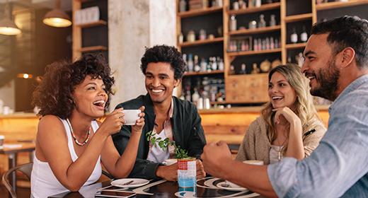 Little girl attempting to wash her parents car with a grill brush as her dad rushes to stop her